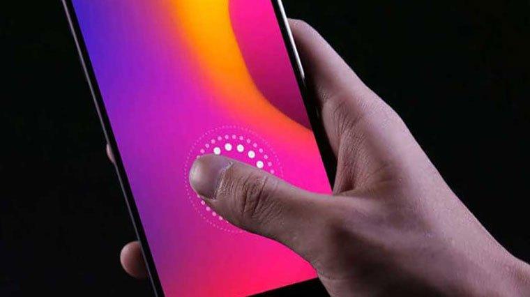 Mİ 9 parmak izi sensörünü geliştirdi