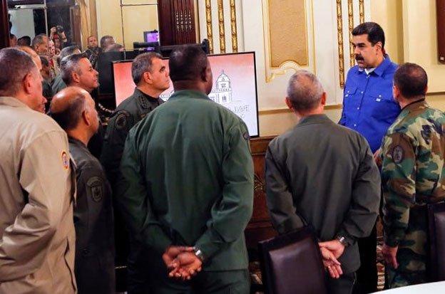 Darbe girişimi sonrası Maduro güvenlik önlemlerini arttırdı