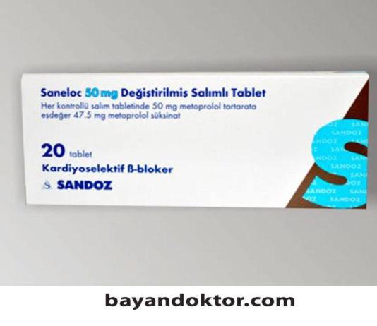 Saneloc 50 mg Nedir? Ne İşe Yarar?