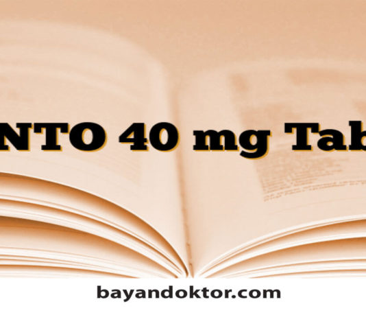 Panto 40 mg Tablet Nedir? Ne İşe Yarar?