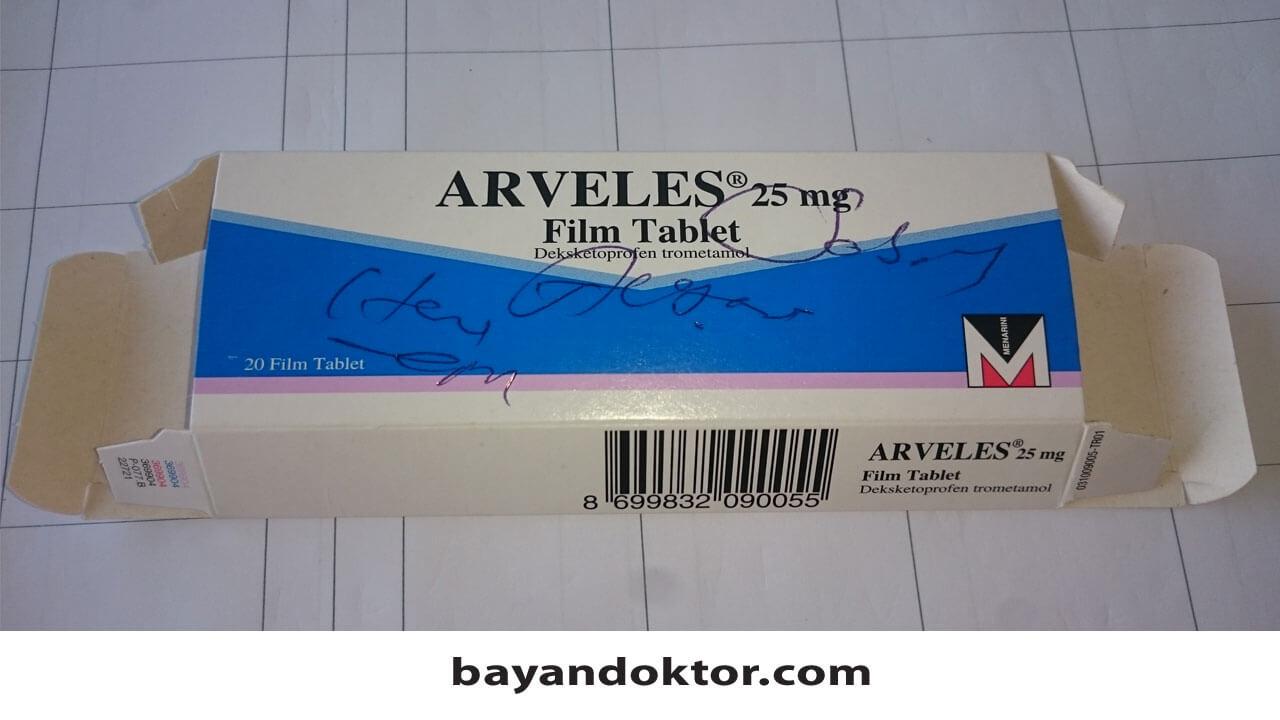 Arveles 25 mg Nedir? Ne İşe Yarar?