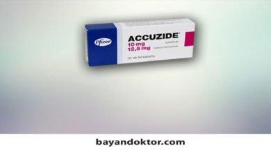 Photo of Accuzide 20 mg/12,5 mg 30 Film Tablet Nedir? Ne İşe Yarar?