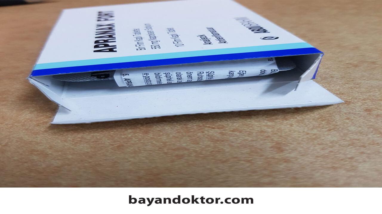 Apranax Forte 550 mg Nedir? Ne İşe Yarar?