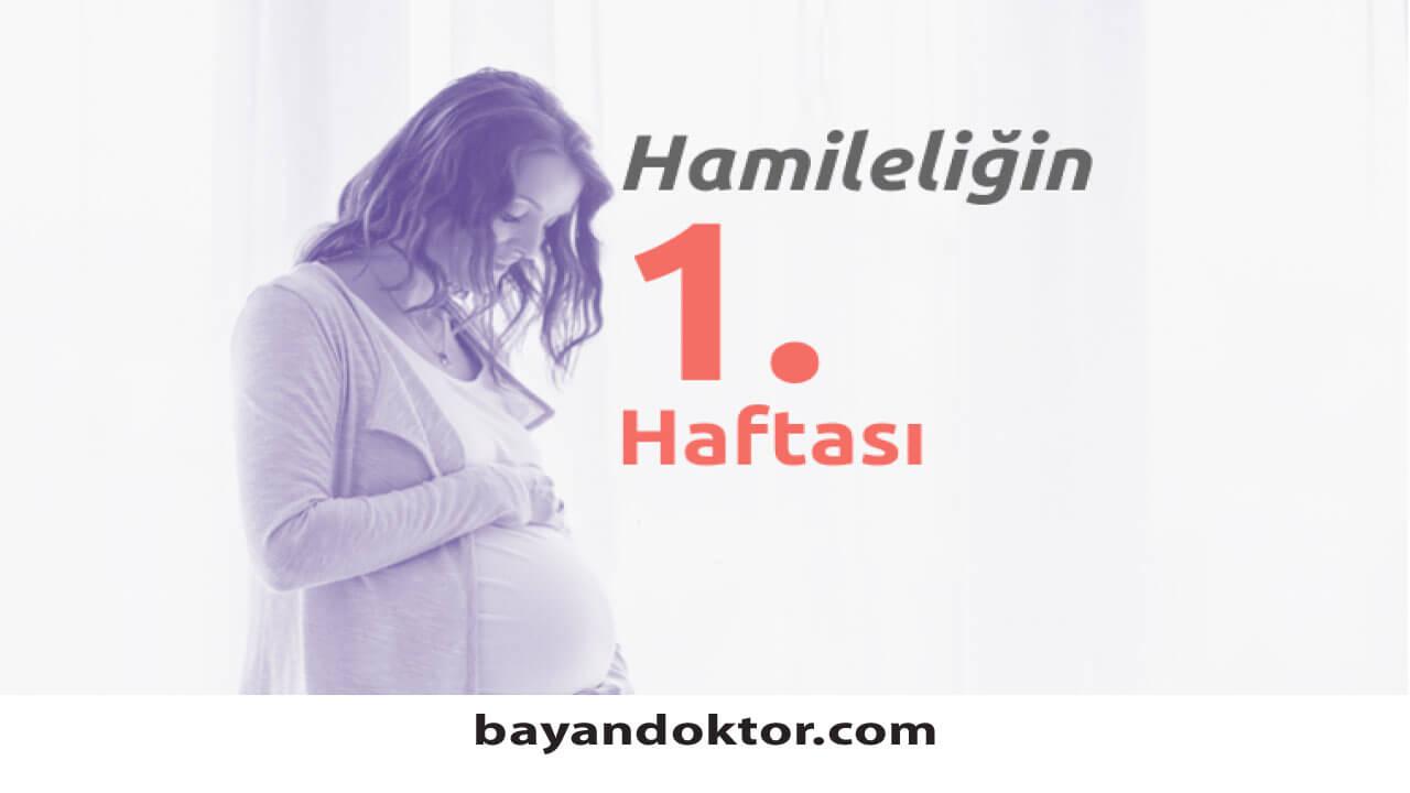 1. Hafta Gebelik – Hafta Hafta Hamilelik