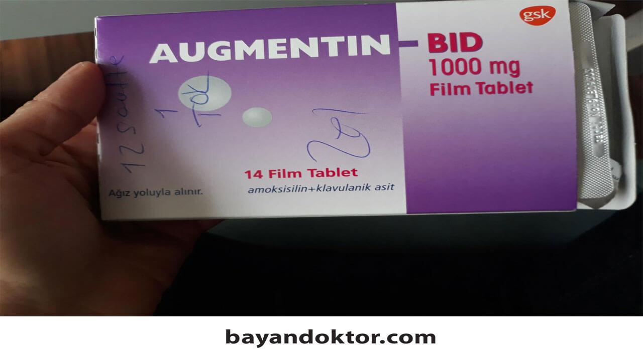 Augmentin Bid 1000 mg Nedir? Ne İşe Yarar?