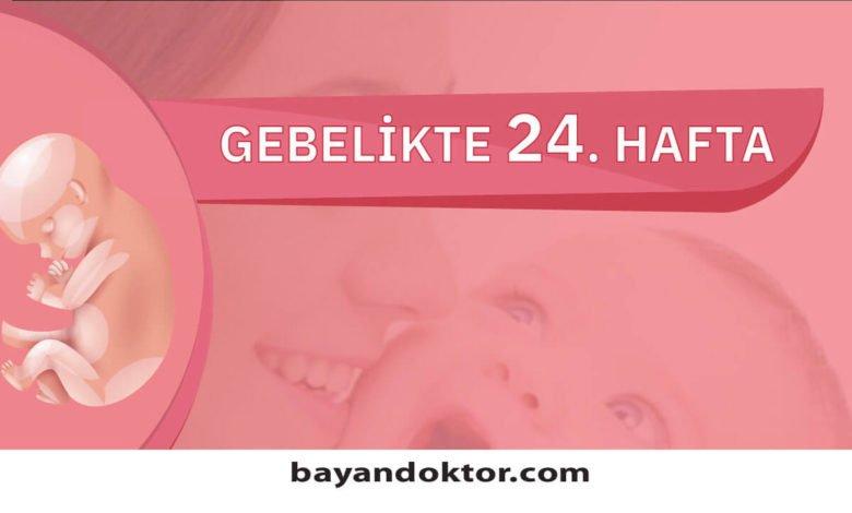 24. Hafta Gebelik – Hafta Hafta Hamilelik