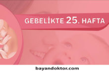 Photo of 25. Hafta Gebelik – Hafta Hafta Hamilelik