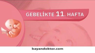 Photo of 11. Hafta Gebelik – Hafta Hafta Hamilelik0 (0)
