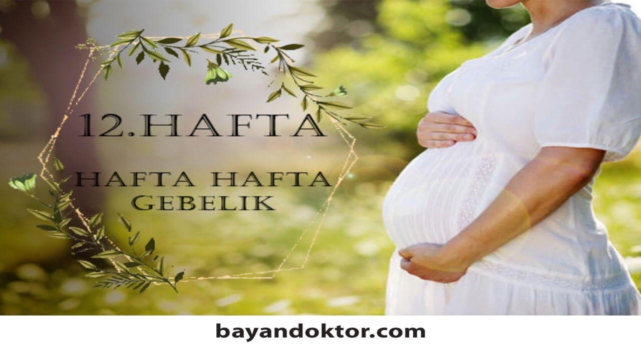 12. Hafta Gebelik – Hafta Hafta Hamilelik