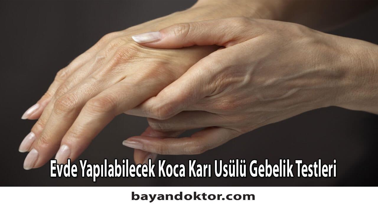 Evde Koca Karı Yöntemiyle Yapılabilecek Gebelik Testleri