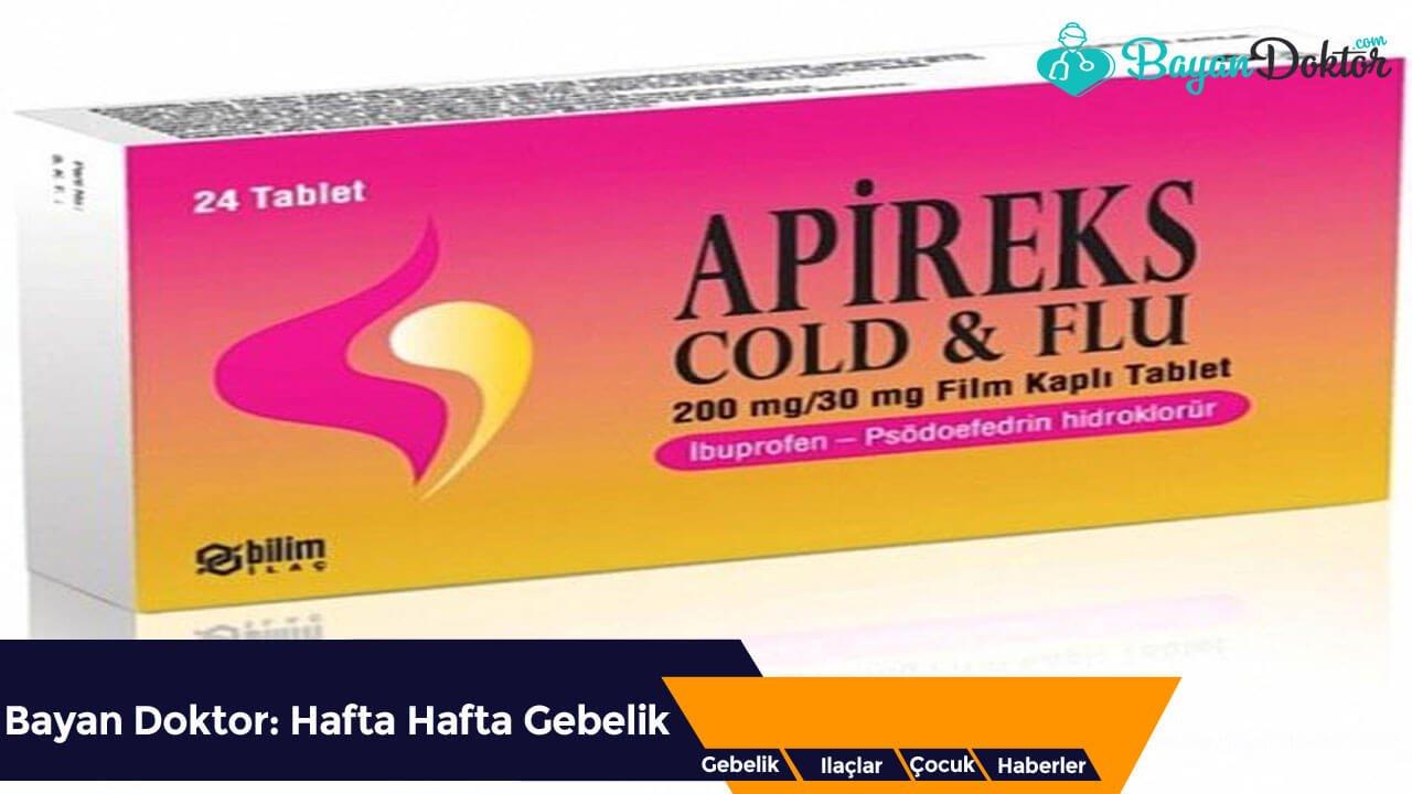 Apireks Cold&Flu 200 mg/30 mg 24 Film Kaplı Tablet Nedir? Ne İşe Yarar?