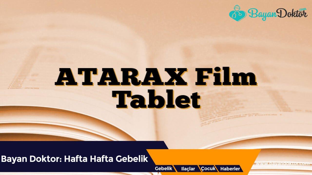 Atarax 30 Film Tablet Nedir? Ne İşe Yarar?