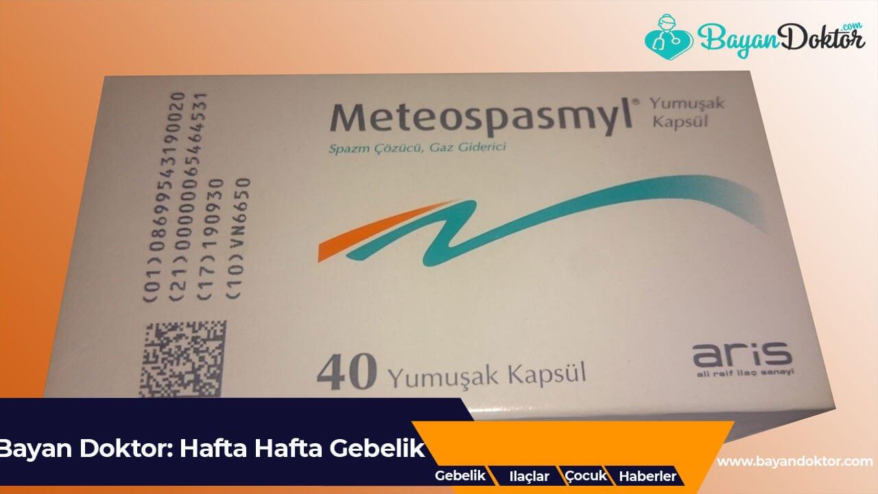 Meteospasmyl 40 mg Tablet Nedir? Ne İşe Yarar?