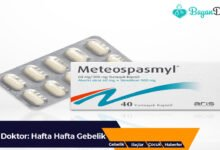 Photo of Meteospasmyl 40 mg Tablet Nedir? Ne İşe Yarar?
